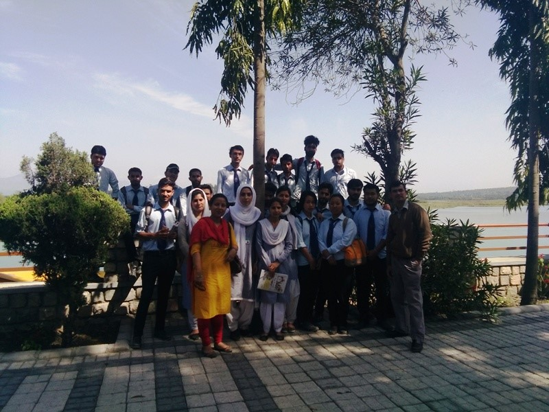 Students of MSc. Botany with Faculty