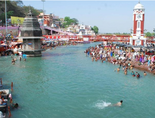 Ganga and Yamuna are living Entities