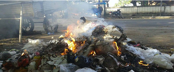 HEALTH AND ENVIRONMENTAL EFFECTS OF BURNING WASTE PLASTICS AND RUBBER
