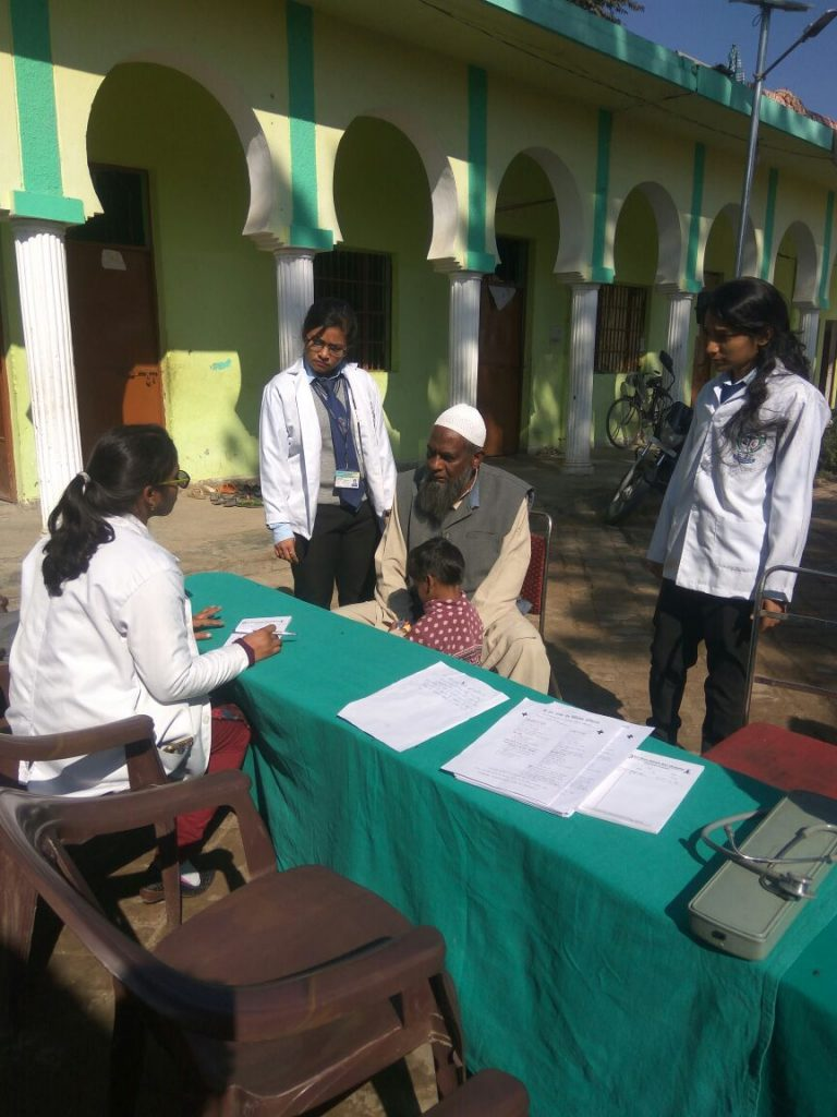 Physiotherapy Camp in Buddhi Gaon on the date of 22 November 2017