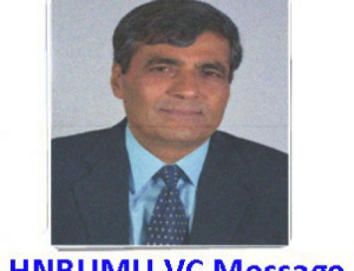 Vice Chancellor of HNB Uttarakhand Medical Education University