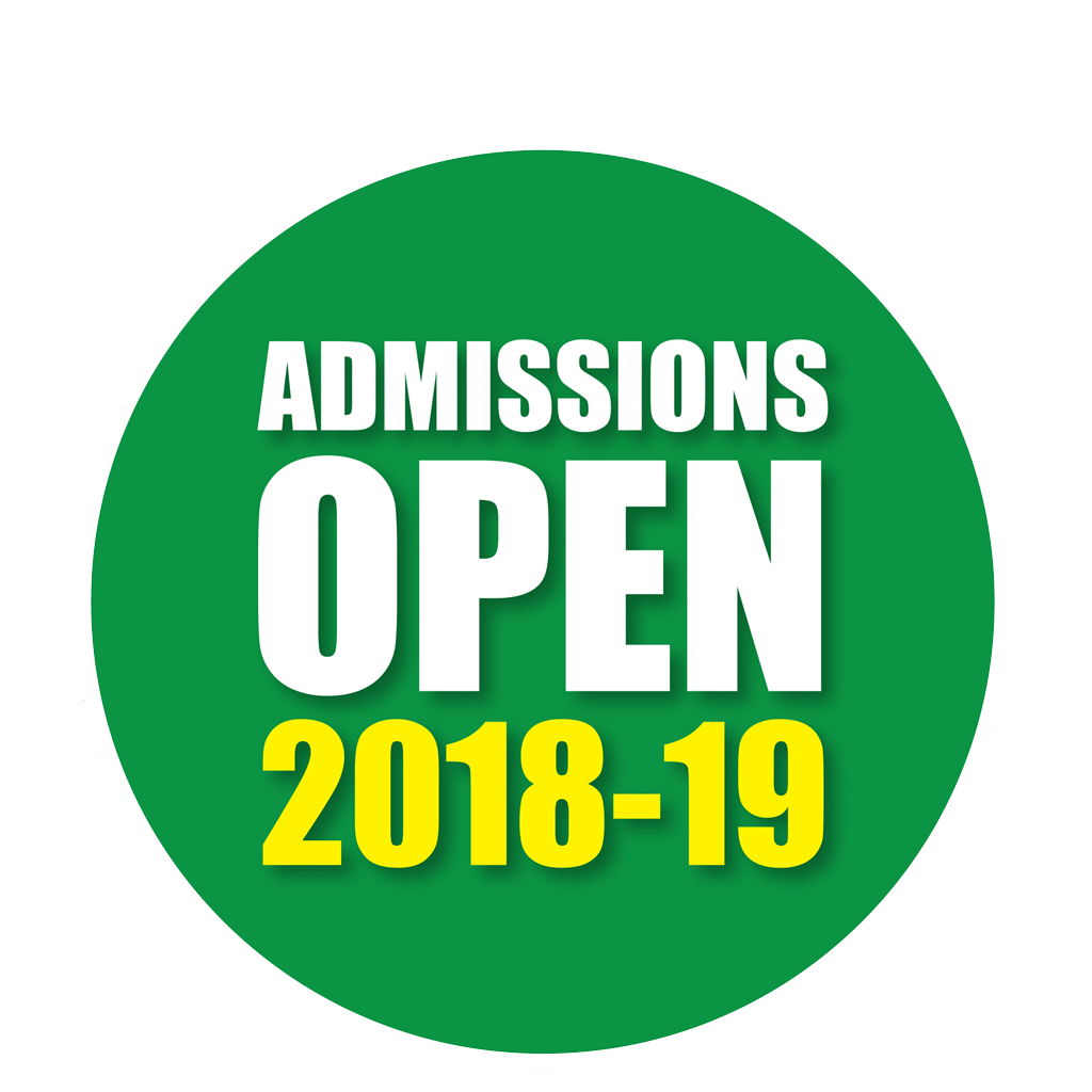 Admission Open 2018, 2019