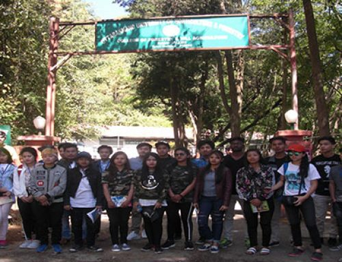 Educational Tour Report By forestsry Dept.
