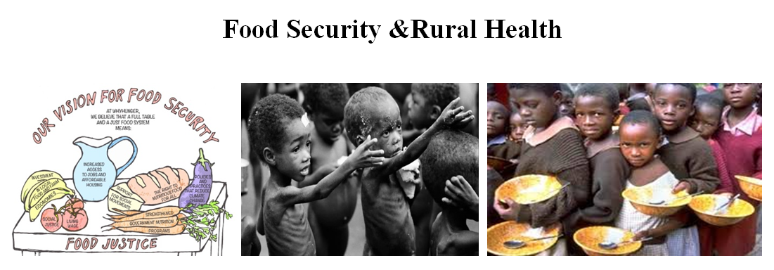 Food Security &Rural Health