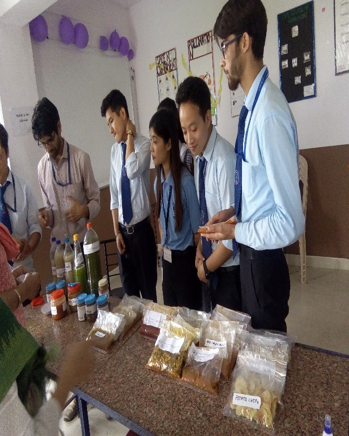 Analysis of products by principal mam and coordinator mam