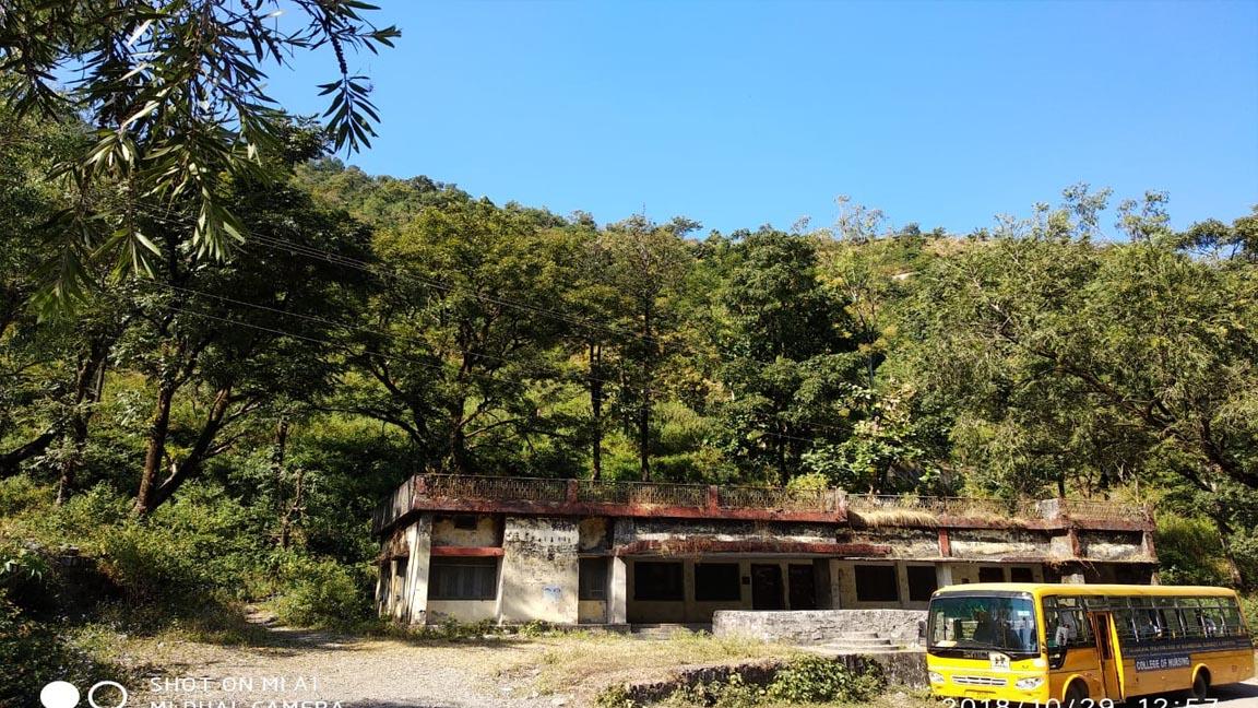 Visit to Restoration site Maldevta